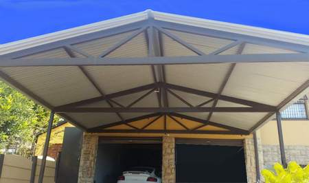steel carports west Rand