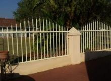 Steel fencing west rand Krugersdorp