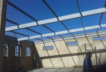 steel roofs roodepoort installed by MF Steel