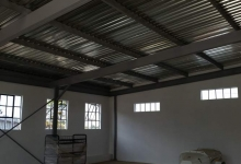 steel carports roodepoort installed by MF Steel