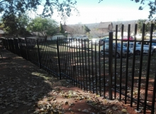 palisade fencing bromhof