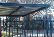carports randburg installed by MF Steel