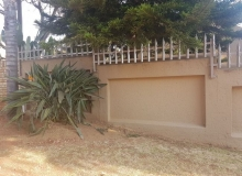 palisades on wall roodepoort manufactured by MF Steel