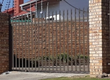 palisade gates with elctric fencing randburg