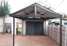 steel carport honeydew
